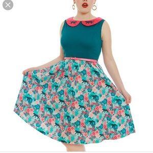 Lindy Bop Leopard Swing Dress
